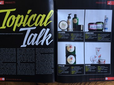 Dope Magazine Topicals Review July 2014